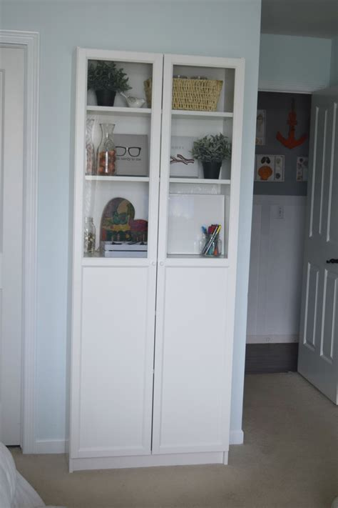 ikea billy cabinet bedroom office craft room reveal our house now a home