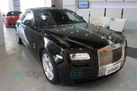 Modifikasi Rolls Royce Ghost by Rolls Royce Ghost Black With Rear Coolbox 2013