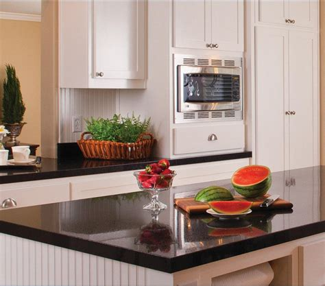 50 Inspired White Cabinets And Black Countertops