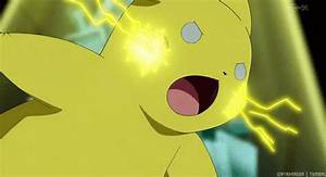 Thunderbolt Pikachu GIFs - Find & Share on GIPHY