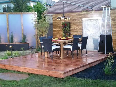 Backyard Deck Plans by Floating Deck Plans Home Depot Home Design Ideas