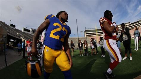 los angeles tailback darrell henderson excited
