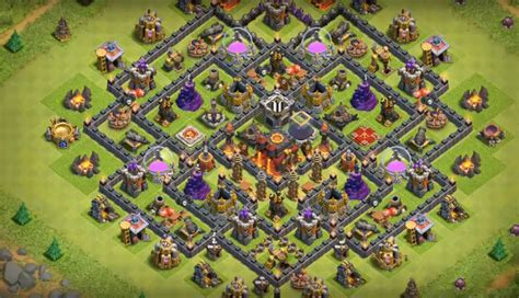 th10 th11 base layouts clash clash of clans anti bowler base th10 th10