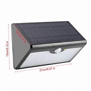 Wandleuchte Mit Fernbedienung : 5 modi led solarleuchte solarlampe bewegungsmelder ~ A.2002-acura-tl-radio.info Haus und Dekorationen