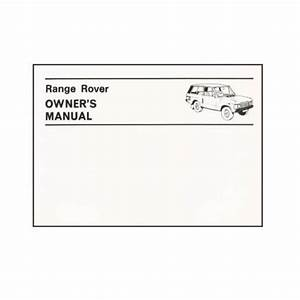 606917 - Range Rover Classic Owners Manual 1970