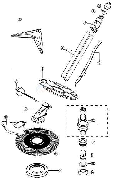 Kreepy Kadet Parts - INYOPools.com