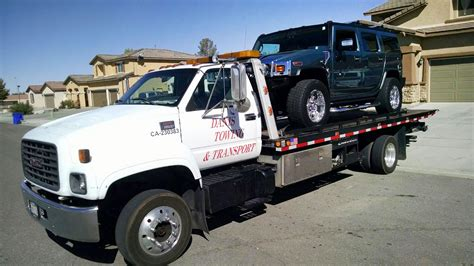 Flatbed Tow For Hummer Transport Best Price Inland Empire