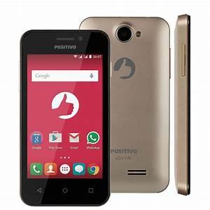 Smartphone Positivo S420 Dourado Com Dual Chip  Tela 4