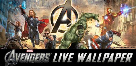 avengers android marvel wallpapers apps avenger v1 aplikasi livewallpaper chomikuj team apk