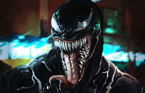 Wallpaper Venom Movie Art 4k, Spiderman Infinity War