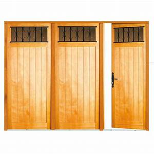 porte de garage louveciennes pliante bois exotique sans With porte de garage de plus porte extérieure bois