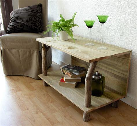 canape en palette meuble tv en bois flotté et planches de récupération en