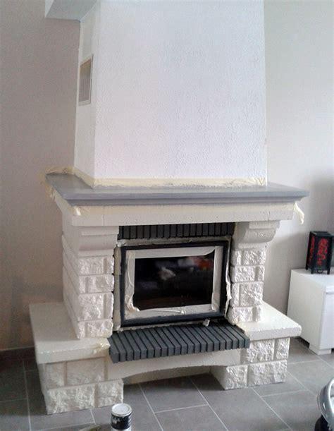 restaurer cuisine repeindre une cheminée ancienne