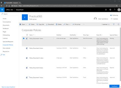sharepoint  document libraries   document
