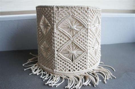 handmade macrame lamp shade macrame bohemian boho home