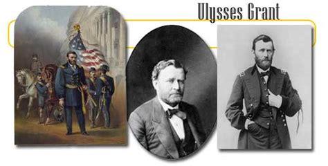 eighteenth  president ulysses grant