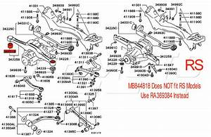 2003 Saturn Vue Suspension Parts Diagram