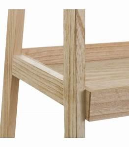 Portant Vetement En Bois : portant v tements en bois avec tag re et 2 tiroirs ~ Melissatoandfro.com Idées de Décoration