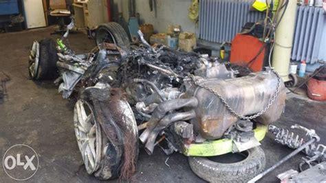 crashed lamborghini for sale lamborghini huracán wrecked at 200 mph posted for sale