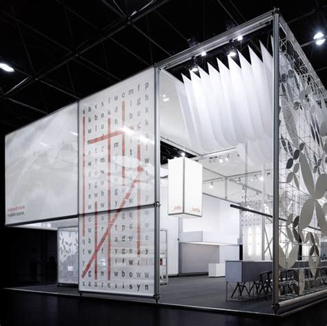 glass facade graphics at burkhardt leitner exhibition stand dusseldorf germany by ippolito