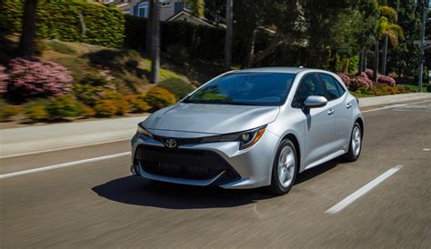 toyota corolla hatchback review boring