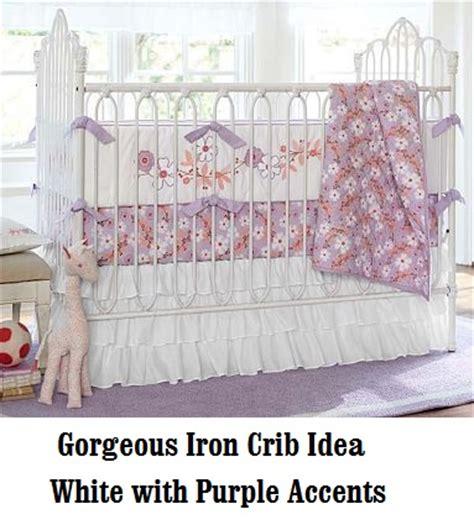 Bratt Decor Venetian Crib Antique White by Iron Crib Baby Room Ideas