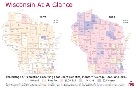 wisconsin legislative reference bureau lrb releases map showing percentage of wi population