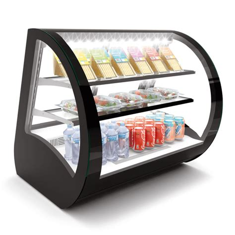 display refrigerated countertop case vitrina vela refrigerada bakery cases mostrador igoodcake sobre curva refrigeradas vitrinas