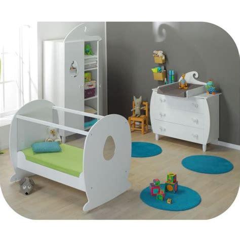 chambre bébé cdiscount eb chambre bébé lutin blanche lit plexi et pl achat