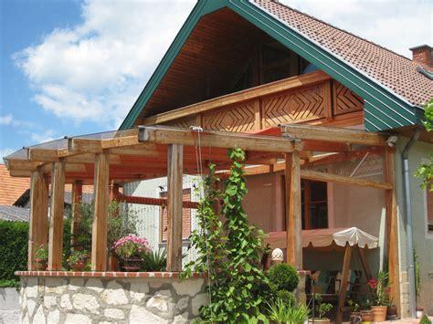 Terrassenuberdachung Holz Mit Glasdach Bvraocom