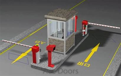 Parking Arms Management System Systems Barrier Intelligent