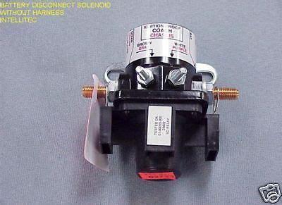 intellitec battery disconnect solenoid 01 00055 000 ebay