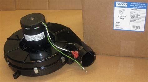 a170 fasco draft inducer motor fits icp 7021 10702 7021 10299 1164280 1164282 735090827410 ebay