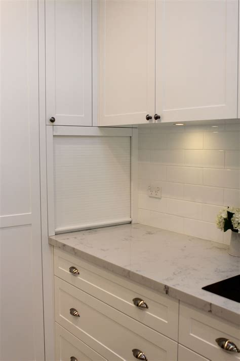 Appliance Cupboards by Kitchen Roller Door Appliance Cupboard Used The Quot Dead
