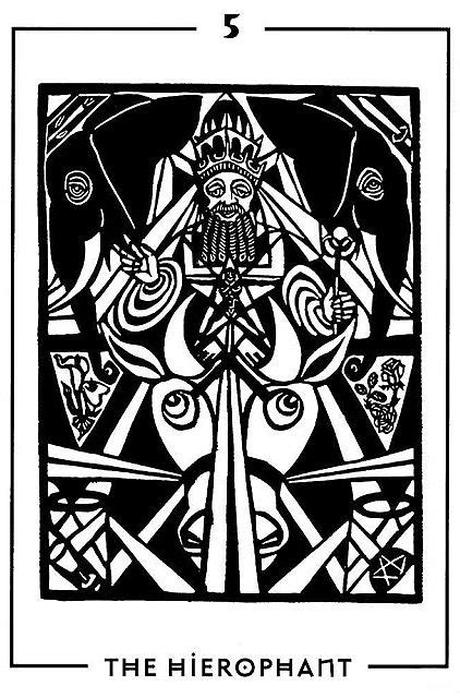 270 best images about Tarot Art - The Hierophant on