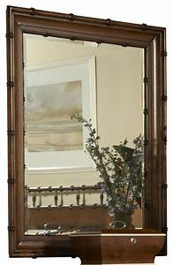 Summer home bamboo mirror tropical mirrors by for Tropical bathroom mirrors