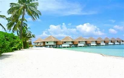 Sand Beach Maldives Ocean Island Indian Resort
