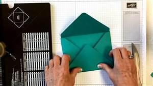 Comment Fabriquer Une Enveloppe : insta enveloppe stampin 39 up comment faire une enveloppe ~ Melissatoandfro.com Idées de Décoration