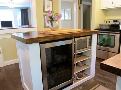 jenny steffens hobick kitchen island diy kitchen island  built  refridgerator