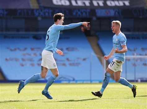 Mancity Vs Westham : Man city vs west ham look, the ball ...