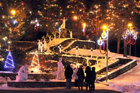 la salette christmas lights la salette lights gallery thesunchronicle com