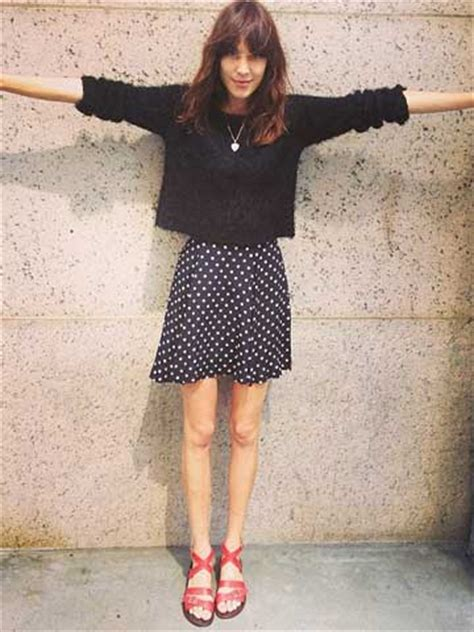 omg alexa chung reveals super skinny legs  bony knees