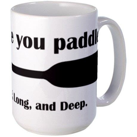 Row The Boat Motto by Boat Live Like You Paddle Mug Boat