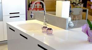 plan de travail quartz marbre et decoration With quartz plan de travail cuisine
