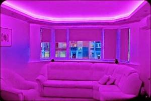 5 gypsum false ceiling designs with LED ceiling lights for ...