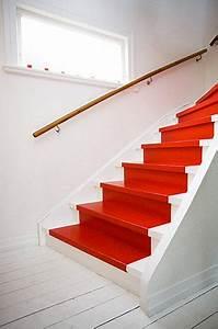 Peinture Pour Escalier : quelle couleur pour repeindre un escalier tapis peint ~ Zukunftsfamilie.com Idées de Décoration
