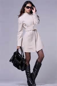 Women Winter Wool Dress Coats