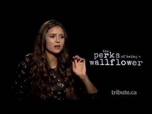 Nina Dobrev - The Perks of Being a Wallflower Interview ...
