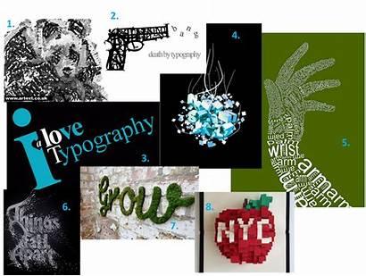 Mood Board Typography Exam Graphics Bear Nicolas