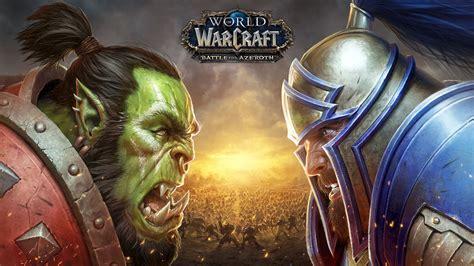 wallpaper world  warcraft battle  azeroth  hd